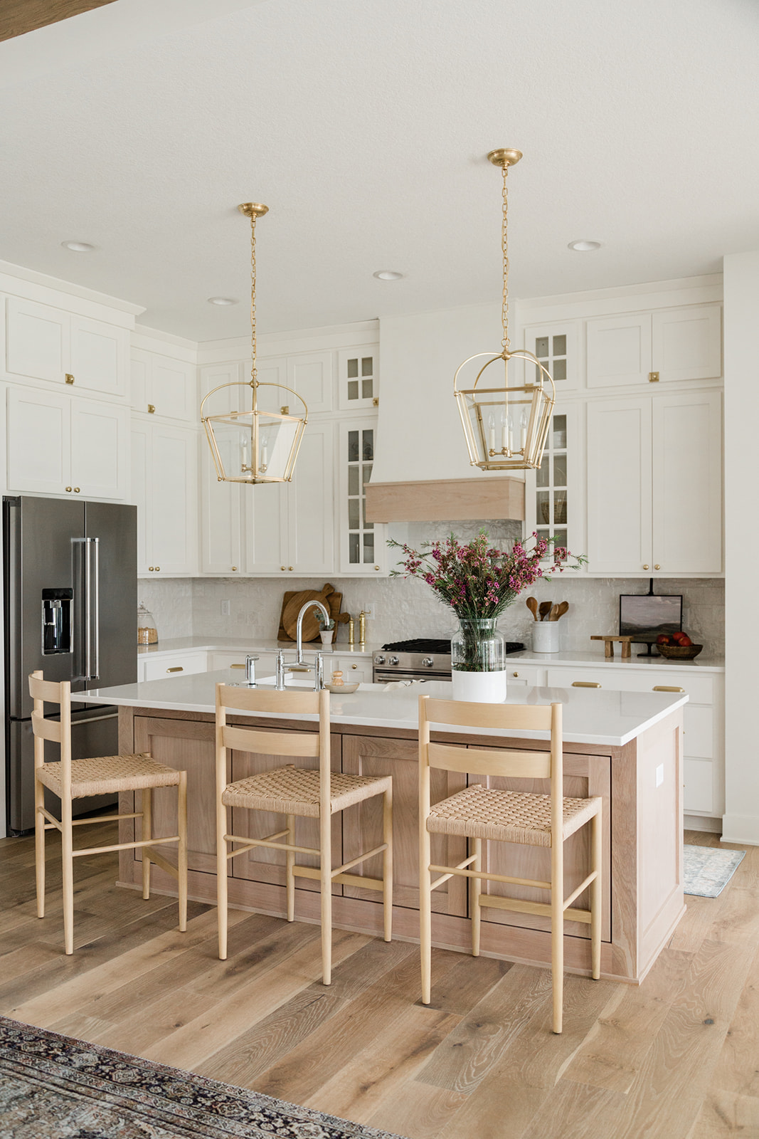 White Birch Project Kitchen Dining Oakstone Homes
